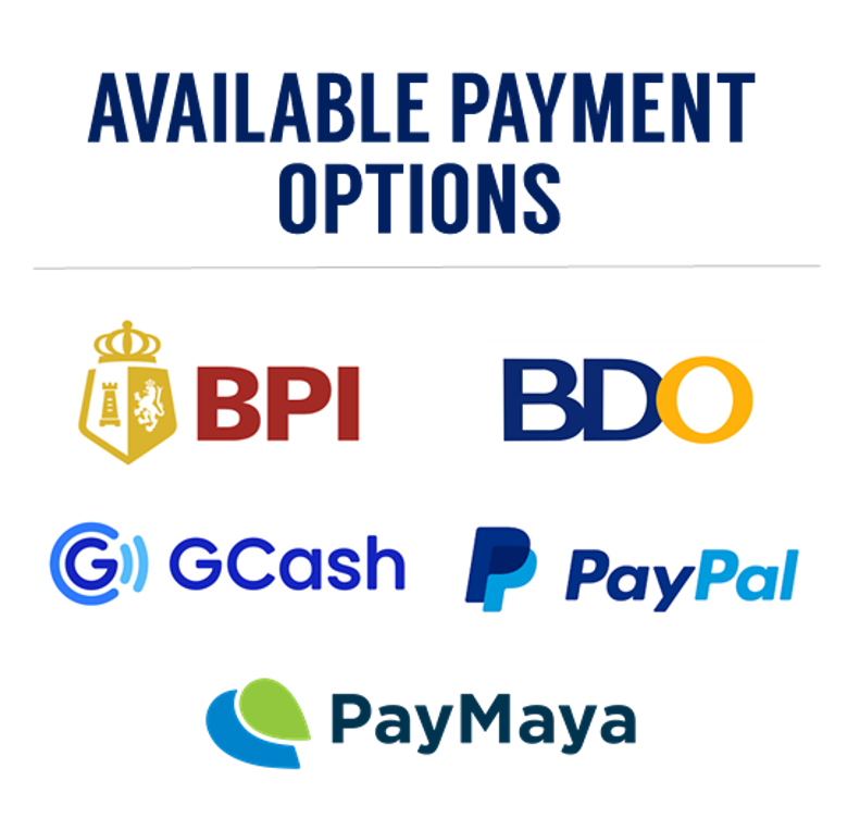 Available Payment Options