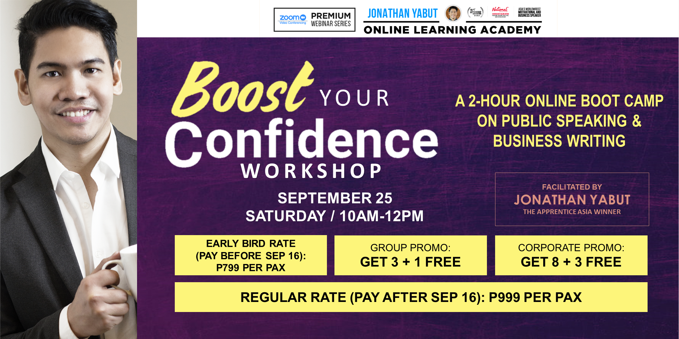 Boost Your Confidence: Public Speaking & Business Writing, Batch 17