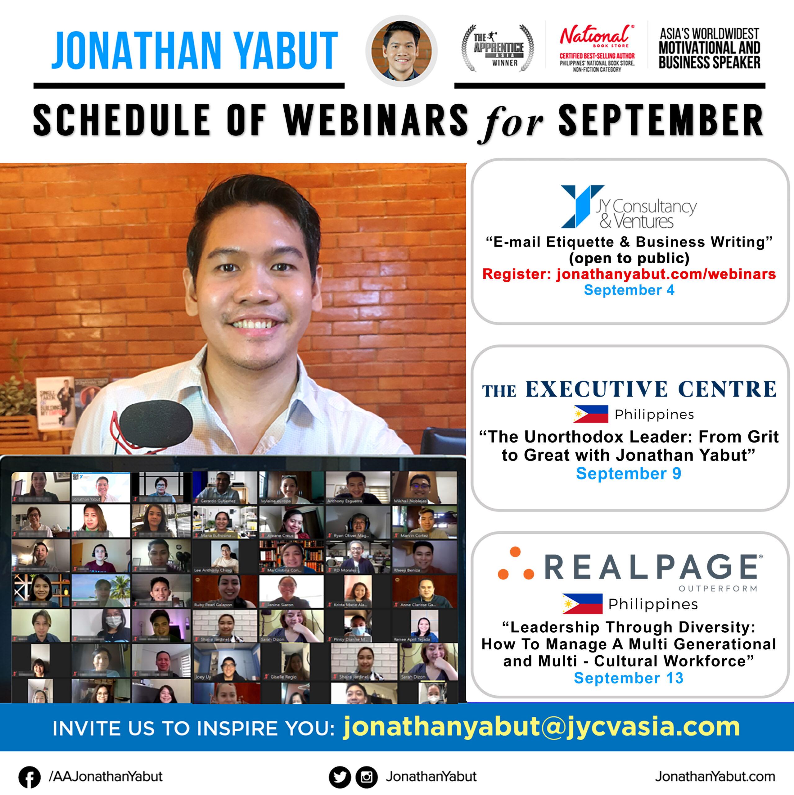 Jonathan Yabut motivational speaker asia philippines September webinars 1 IG Feed