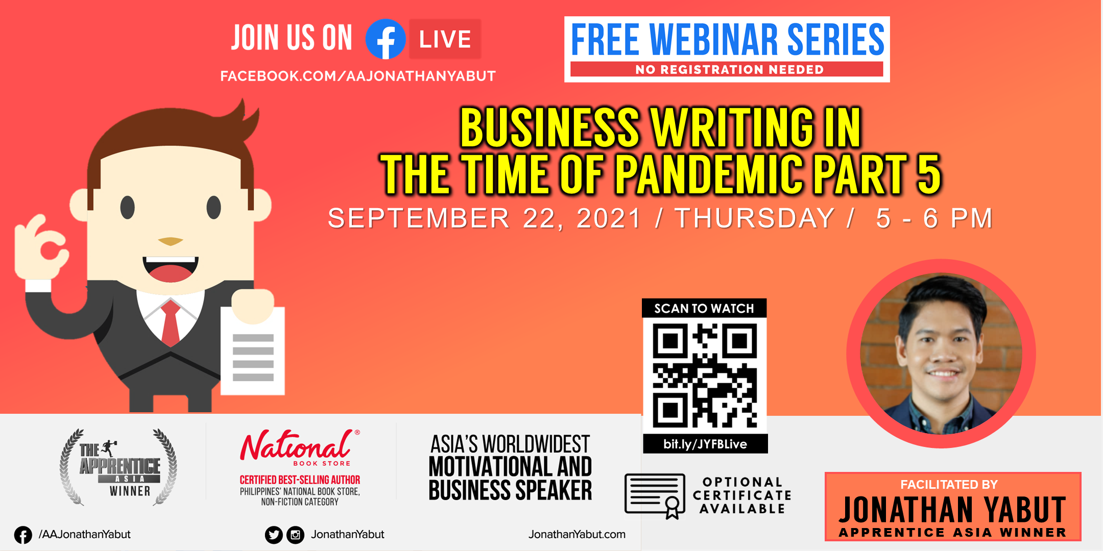 Business Writing in The Time of Pandemic, Part 5