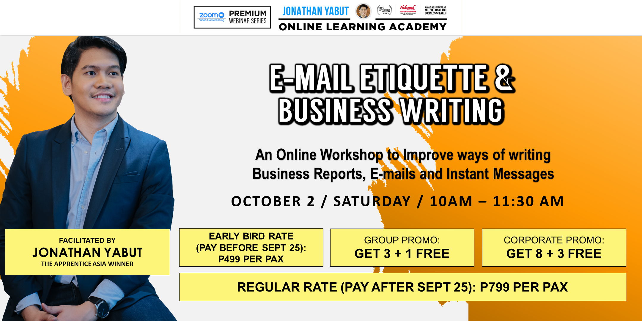 E-mail Etiquette & Business Writing, Batch 2