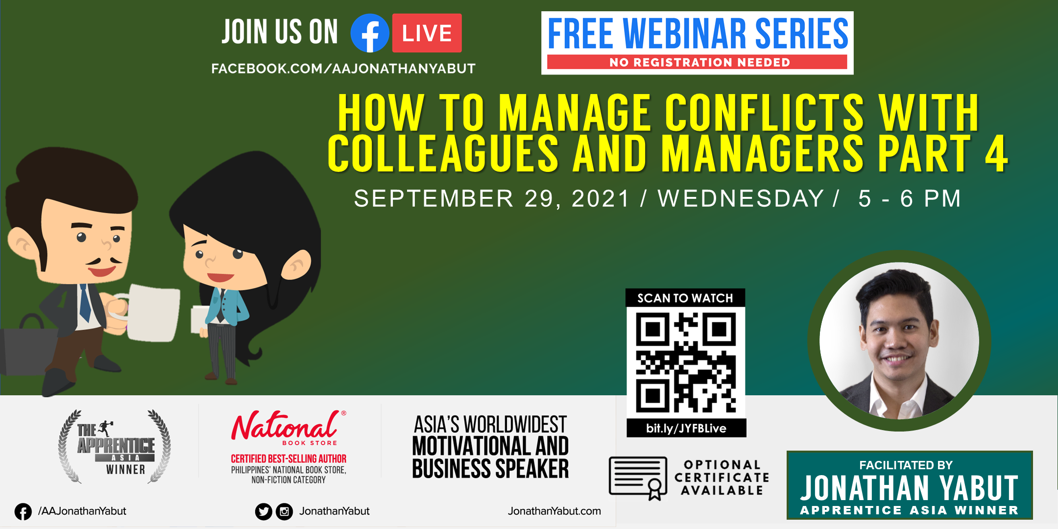 How to Manage Conflicts with Colleagues & Managers, Part 4